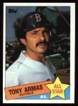 1985 Topps #707  Tony Armas  Front Thumbnail