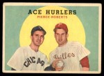 1959 Topps #156   -  Robin Roberts / Billy Pierce Ace Hurlers Front Thumbnail