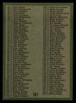 1971 Topps #161   Coins Checklist Back Thumbnail