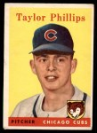 1958 Topps #159  Taylor Phillips  Front Thumbnail