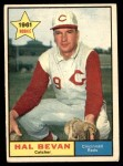 1961 Topps #456  Hal Bevan  Front Thumbnail