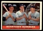 1961 Topps #173   -  Jackie Jensen / Frank Malzone / Vic Wertz Beantown Bombers Front Thumbnail