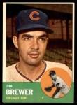 1963 Topps #309  Jim Brewer  Front Thumbnail