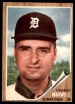 1962 Topps #506  Charlie Maxwell  Front Thumbnail