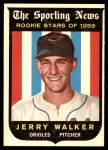 1959 Topps #144  Jerry Walker  Front Thumbnail