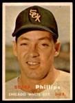 1957 Topps #395  Bubba Phillips  Front Thumbnail