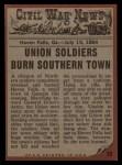 1962 Topps Civil War News #70   The Sniper Back Thumbnail