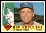 1960 Topps #265  Rip Repulski  Front Thumbnail