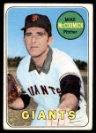 1969 Topps #517  Mike McCormick  Front Thumbnail