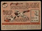 1958 Topps #95  Frank Bolling  Back Thumbnail