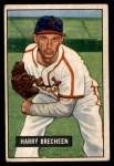 1951 Bowman #86  Harry Brecheen  Front Thumbnail