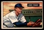 1951 Bowman #71  Jerry Priddy  Front Thumbnail