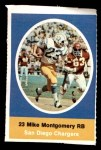 1972 Sunoco Stamps  Mike Montgomery  Front Thumbnail