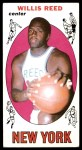 1969 Topps #60  Willis Reed  Front Thumbnail