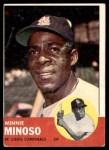 1963 Topps #190  Minnie Minoso  Front Thumbnail