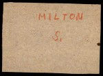 1961 Post #66  Bob Wilson  Back Thumbnail