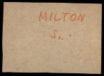 1961 Post Cereal #32  Turk Lown   Back Thumbnail