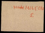 1961 Post #114  Al Spangler   Back Thumbnail