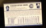 1972 Kellogg's #8  Fergie Jenkins  Back Thumbnail
