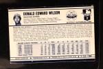 1972 Kellogg's #51  Don Wilson  Back Thumbnail