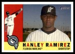 2009 Topps Heritage #10  Hanley Ramirez  Front Thumbnail