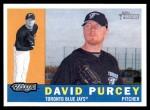 2009 Topps Heritage #199  David Purcey  Front Thumbnail