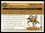 2009 Topps Heritage #107  Jo-Jo Reyes  Back Thumbnail