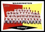 2009 Topps Heritage #43   Nationals Team Checklist Front Thumbnail