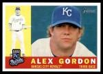 2009 Topps Heritage #196  Alex Gordon  Front Thumbnail