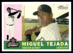 2009 Topps Heritage #26  Miguel Tejada  Front Thumbnail