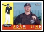 2009 Topps Heritage #17  Adam Lind  Front Thumbnail