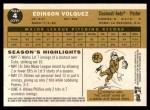2009 Topps Heritage #4  Edinson Volquez  Back Thumbnail