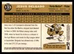 2009 Topps Heritage #125  Jesus Delgado  Back Thumbnail