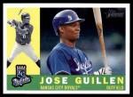 2009 Topps Heritage #92  Jose Guillen  Front Thumbnail