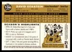 2009 Topps Heritage #106  David Eckstein  Back Thumbnail