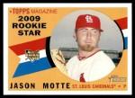 2009 Topps Heritage #124  Jason Motte  Front Thumbnail