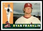 2009 Topps Heritage #195  Ryan Franklin  Front Thumbnail