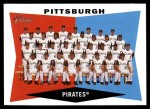 2009 Topps Heritage #183   Pirates Team Checklist Front Thumbnail