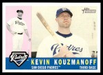 2009 Topps Heritage #97  Kevin Kouzmanoff  Front Thumbnail