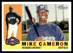 2009 Topps Heritage #39  Mike Cameron  Front Thumbnail