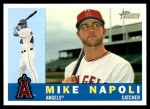 2009 Topps Heritage #21  Mike Napoli  Front Thumbnail