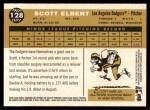 2009 Topps Heritage #128  Scott Elbert  Back Thumbnail