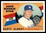 2009 Topps Heritage #128  Scott Elbert  Front Thumbnail