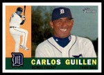 2009 Topps Heritage #245  Carlos Guillen  Front Thumbnail