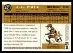 2009 Topps Heritage #371  J.J. Putz  Back Thumbnail