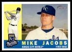 2009 Topps Heritage #281  Mike Jacobs  Front Thumbnail