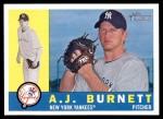 2009 Topps Heritage #239  A.J. Burnett  Front Thumbnail