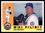 2009 Topps Heritage #296  Mike Pelfrey  Front Thumbnail