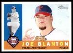 2009 Topps Heritage #293  Joe Blanton  Front Thumbnail