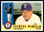2009 Topps Heritage #357  Vicente Padilla  Front Thumbnail